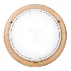 Plafoniera Kobi średnia sosna P1/2C 1x60W E27 fi300mm E14020100609