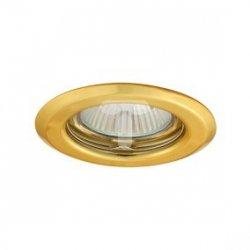 Oczko halogenowe 12V MR16 GU5,3 50W stalowe, nieregulowane, złote AXL 2114 PV16P-G GXPP004