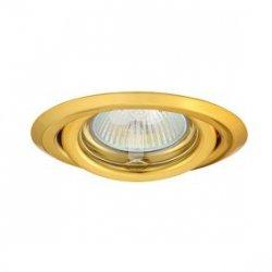 Oczko halogenowe 12V MR16 GU5,3 50W stalowe, regulowane, złote AXL 2115 PV16V-G GXPP031