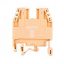 Zlaczka szynowa 2-przewodowa 4mm2 Ex CBD.4 4 beżowa