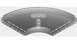 Kolanko korytka 90 stopni 100x60mm 1,5mm KKPP100H60 160814