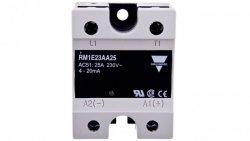 Przekaźnik półprzewodnikowy jednofazowy 25A 90-280V AC sterowanie 4-20mA RM1E23AA25