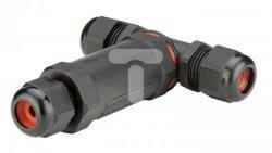 Mufa kablowa rozgałęźna skręcana 1-2,5mm2 450V 24A IP68 81325