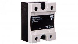 Przekaźnik półprzewodnikowy jednofazowy 25A 230V AC 4,5-32V DC RS1A23D25 2603001