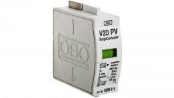 Wkładka PV ogranicznika przepięć C 1P 20kA 1,3kV 300V DC V50-B+C Typ 1+20-300PV 5099611