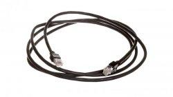 Kabel krosowy ethernet 2m z wtyczką RJ45 256487
