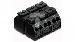 Blok zasilający 3-biegunowy czarny nadruk PE-N-L1 862-1533 /250szt./