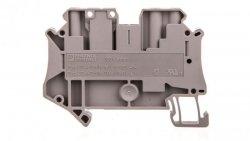 Złączka szynowa rozłączalna 3-przewodowa 4mm2 szara UT 4-TWIN-TG P/P 3046605 /50szt./