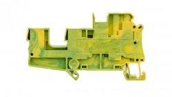 Złączka szynowa ochronna 4mm2 śrubowa/wtykowa zielono-żółta UT 4-QUATTRO/ 2P 3060319