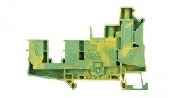 Złączka szynowa ochronna 6mm2 śrubowa/wtykowa zielono-żółta UT 6-QUATTRO/2P- 3060584
