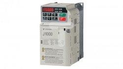 Falownik skalarny jednofazowy 200-240V/ 0,4 kW 3x230 1,9A CIMR-JCBA0002BAA