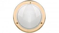 Plafoniera Kobi mała złota P1/1MC 1x60W E27 fi260mm E14020101024