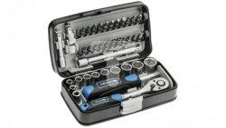 Zestaw nasadek końcówek wkrętakowych i akcesoriów 1/4 38 elementów HT1R462