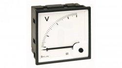 Woltomierz AC 48X48 pomiar bezp. 500V RQ48E AN15DDC500