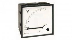 Woltomierz AC 72X72 pomiar bezp. 300V RQ72E AN25DDC300