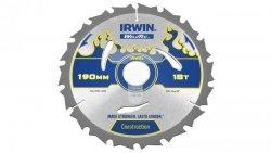 Piła Irwin tarczowa WeldTec do drewna 190mm/18T 1897382
