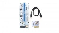 Riser PCi-E 1x-16x USB 3.0 008S SATA,MOLEX 55502
