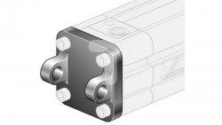 Widełki MP2 D63 ze śrubami montażowymi XAS/063 XCF/063
