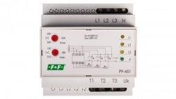 Automatyczny przełącznik faz do współpracy ze stycznikami PF-451