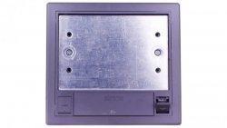 Simon Connect Puszka SF podłogowa podwójna 4xK45 70mm + SM202/9 szara SF270/1