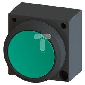 Napęd przycisku 22mm zielony z samopowrotem 3SB3000-0AA41