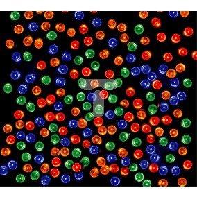 Komplet choinkowy wnętrzowy LED z dodatkowym gniazdem 10cm multikolor 20-061