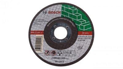 Tarcza tnąca prosta do betonu/ kamienia C 24 R BF 115x2,5x22,23mm 2608600320 /10szt./