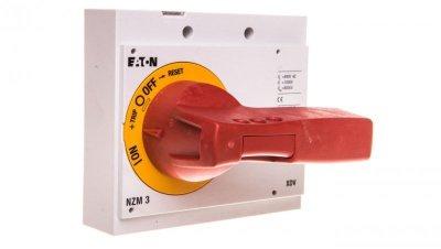 Napęd bezpośredni czerwono-żółty z blokadą NZM3-XDVR 260140
