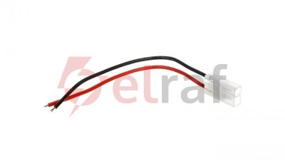 Przewód zasilający z wtyczką Tamiya 0,14m, 1,5mm2 23235