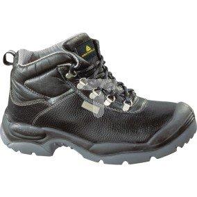 Buty ze skórzanego kruponu barwionego podeszwa z dwuwarstwowego PU kolor czarny rozmiar 40 PIED  SAULTS3NO40
