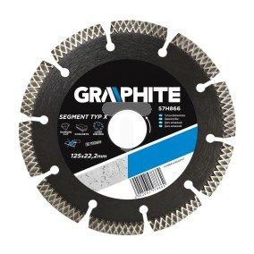 Tarcza diamentowa 230x22 mm typxsegmentowa spawana laserowo segment 8x2.5 mm 57H868