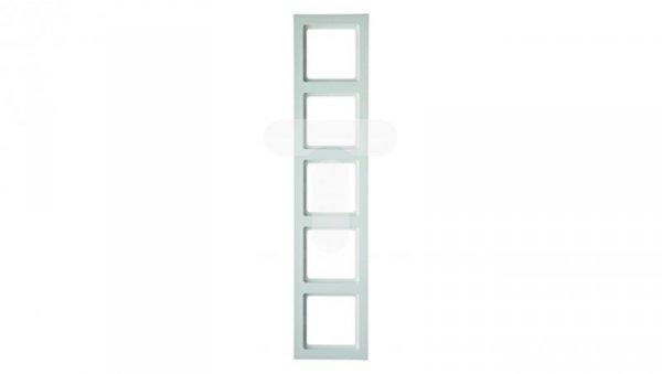 Berker Q.3 Ramka pięciokrotna biały aksamit 10156099