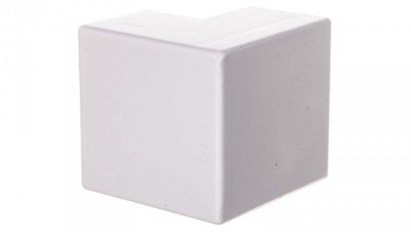 Narożnik do kanałów kablowych zewnętrzny AE 40x25 biały /2szt/ ECAE4025B