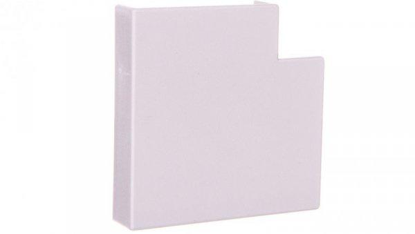 Narożnik do kanałów kablowych płaskiAP 40x10 biały /2szt/ ECAP4010B