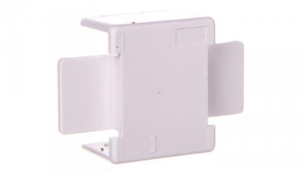 Łącznik prosty do kanałów kablowych GU 20x10 biały /2szt/ ECGU2010B