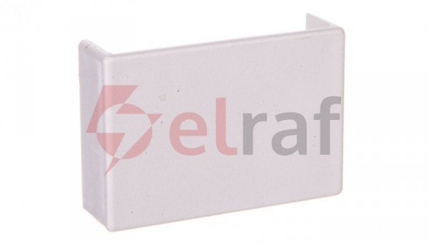 Łącznik prosty do kanałów kablowych GU 40x10 biały /2szt/ ECGU4010B