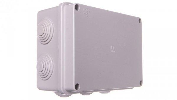 Puszka natynkowa z pokrywą i śrubami seria 400 IP55 150x110x70 EC400C5