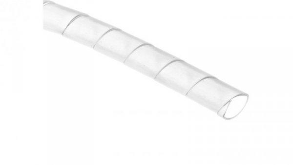 Wężyk ochronny spiralny P 10 mm 12 mm transparentny /25m/ ECP10
