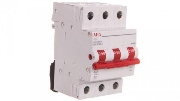 Rozłącznik modułowy 40A 3P ASR3040 666987