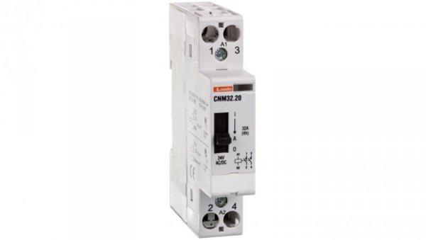 Stycznik modułowy z dźwignią 32A 2Z 0R 24V AC/DC CNM3220024