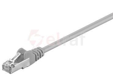 Kabel krosowy patchcord F/UTP kat.5e CCA szary 2m 50128