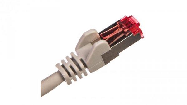 Kabel krosowy patchcord S/FTP (PiMF) kat.6 LSZH szary 5m 50889