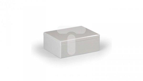 Obudowa Cubo D 150x200x76mm boki gładkie pokrywa szara IP67 ABS DABP152008G