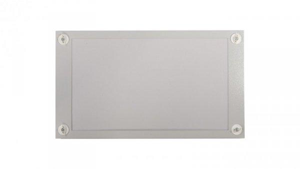 Osłona metalowa z plastikowym wypełnieniem 520x300mm BPZ-FPP-600/300-BL 108292