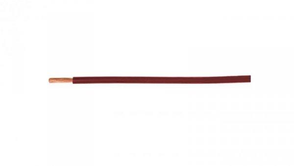Przewód instalacyjny H05V-K (LgY) 0,75 czerwony /100m/
