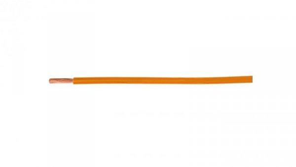 Przewód instalacyjny H05V-K (LgY) 0,75 pomarańczowy /100m/