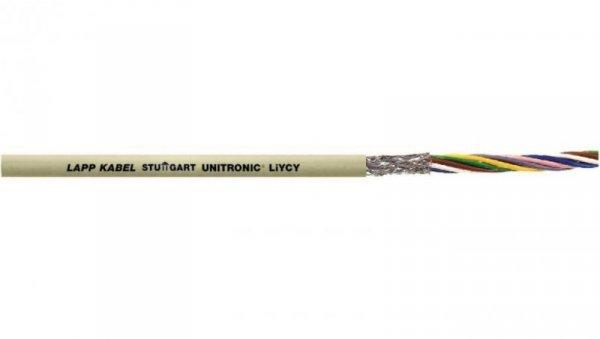 Przewód sterowniczy UNITRONIC LiYCY 6x0,25 0034406 /bębnowy/