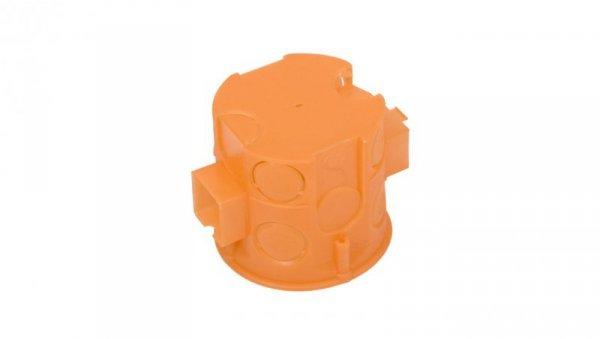 Puszka podtynkowa 60mm głęboka z wkrętami pomarańczowa S60DFw 33069008 /110szt./