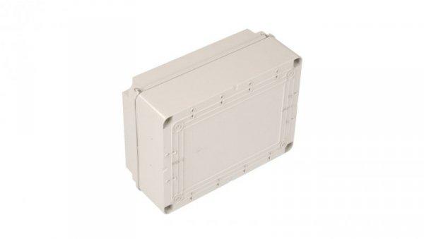 Puszka n/t 300x220x120 tworzywo IP56 szara GW44209