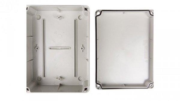 Puszka natynkowa LIGHT 241x180x96 4xM25 6xM40 IP66/67 szara EV-231